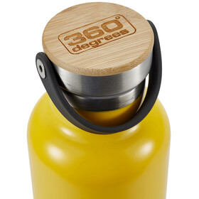 360° degrees Vacuum Insulated Drink Bottle 750ml Yellow